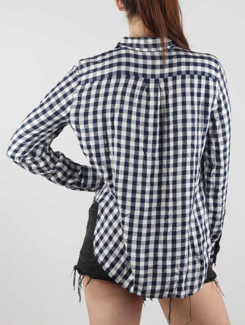 Kockovaná dámska košeľa s dlhým rukávom Levi's