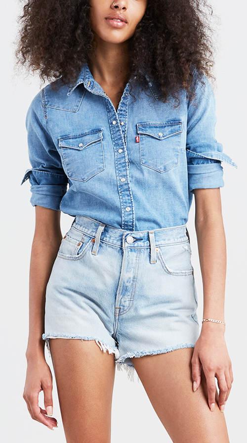 Dámska džínsová košeľa LEVI'S Ultimate Western