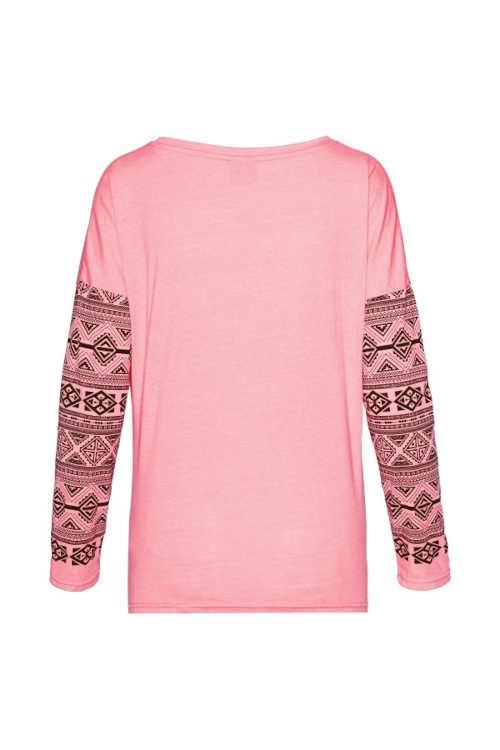 Dámske tričko s potlačou v troch módnych farbách