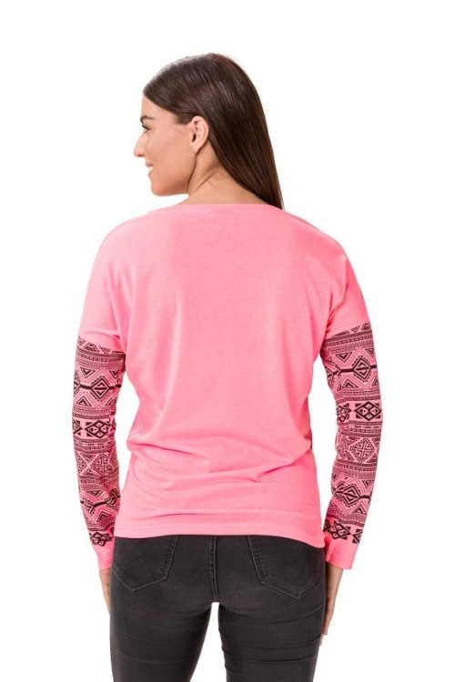 Tričko s dlhým rukávom a potlačou