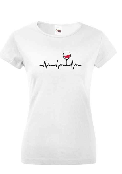Kvalitné tričko s krátkym rukávom a vtipným motívom