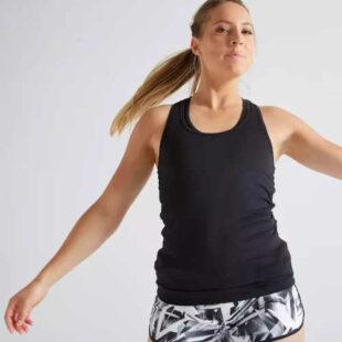 Športové tielko v klasickom pohodlnom strihu z kvalitnej tkaniny