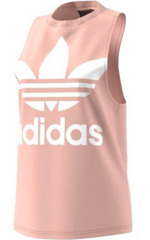 Ružové dámske tielko bez rukávov Adidas