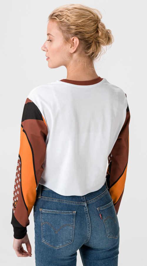Tričko Vans s dlhým rukávom z kvalitného materiálu